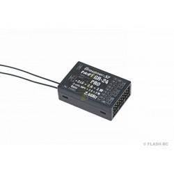 Récepteur GR-24 PRO+3xG+3A+3M HoTT 2.4Ghz 12 Voies Graupner